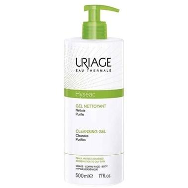 Uriage URIAGE Hyseac Gel Nettoyant Cleansing Gel 500 ml Renksiz